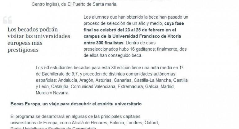 20170418 Becas Europa La Voz digital