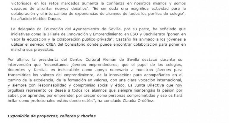 20170428 Feria Innovación La Vanguardia de Sevilla