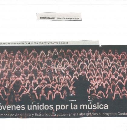 20170520 Cantania actuación  Diario de Cádiz