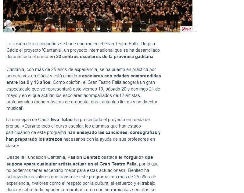 20170520 pre Cantania La Voz Digital