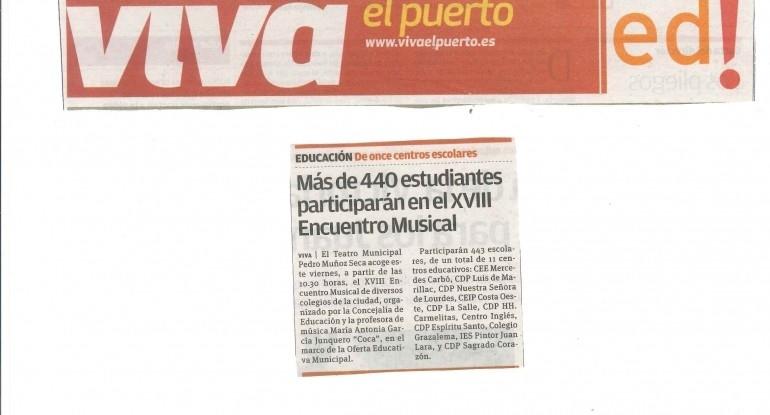 20170602 Encuentro Musical Viva El Puerto