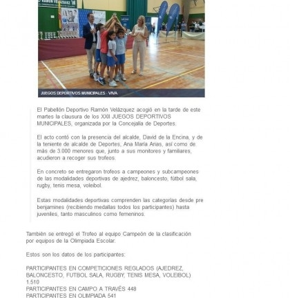 20170607 Juegos Deportivos andaluciainformacion