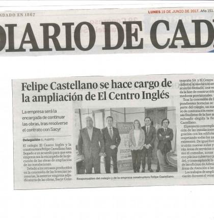 20170619 obras ampliación Diario Cádiz (papel)