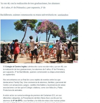 20170620  48 años educando  La Voz de Cádiz