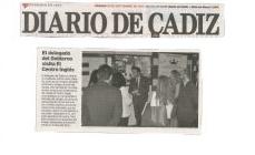 El delegado del Gobierno visita El Centro Inglés