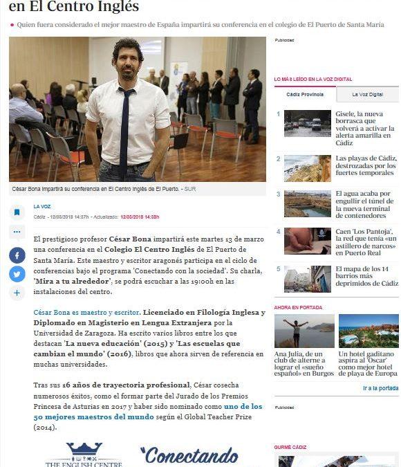 La Voz: César Bona