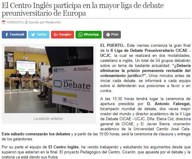 Debating league