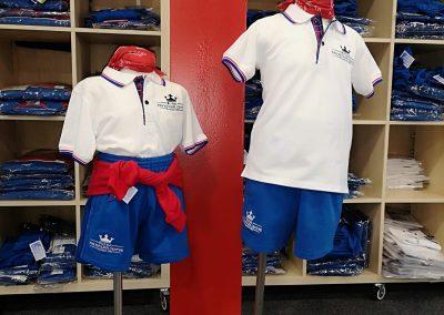 uniforme de deporte