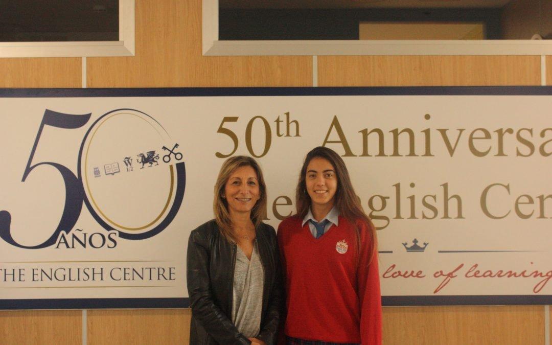 Ángela Pastor entre los 400 seleccionados para la 3º Fase Becas Europa.