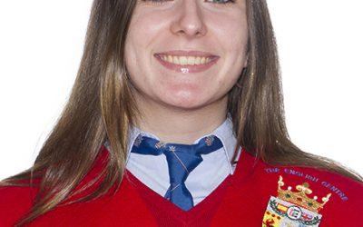 Clara García entre la 5 mejores notas de la Provincia