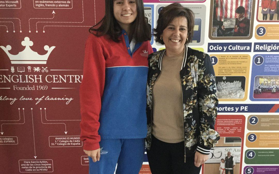 """Ganadora provincial del concurso de narrativa """"Carta a un militar español"""""""