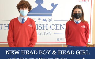 New Head Boy & Head Girl