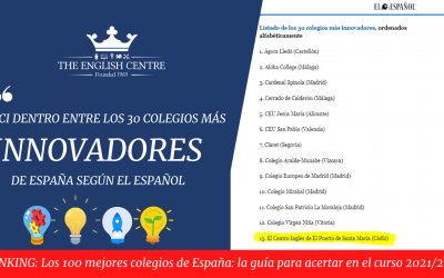 ECI – The most innovative School – El Español Ranking