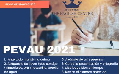 Recomendaciones PEVAU 2021